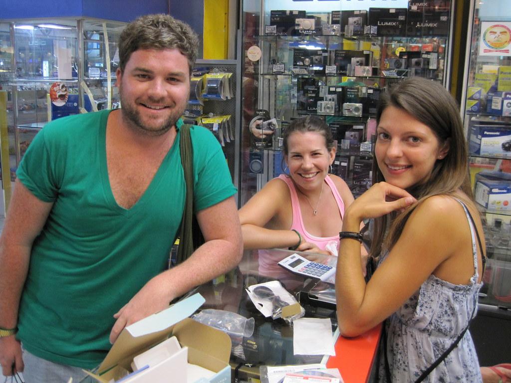 Jo, Jo and Chris- Penang, Malaysia 26/03/09