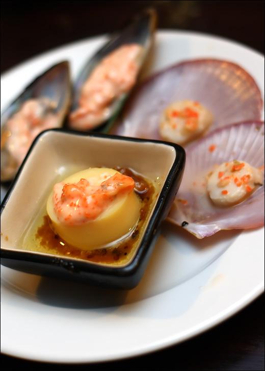 tofu-scallop-mussel