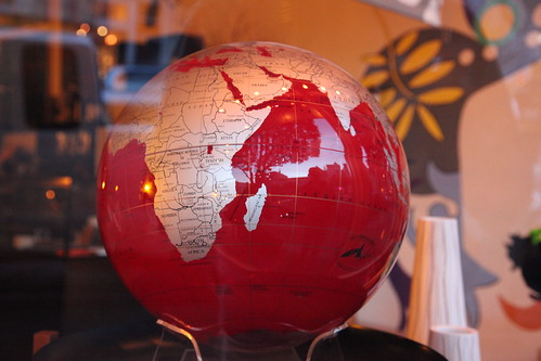 Red Globe by nhanusek, on Flickr