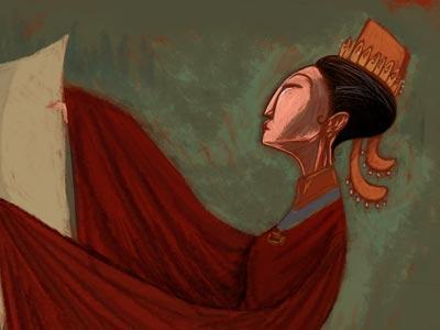 Empress Wu (Detail)