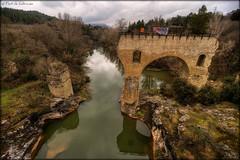 el pont d'en Joan (Seracat) Tags: barcelona bridge río river puente catalonia rivière explore pont catalunya hdr cataluña tardor riu bages llobregat reflexes catalogne sigma1020 sonya100 vosplusbellesphotos cabrianes seracat