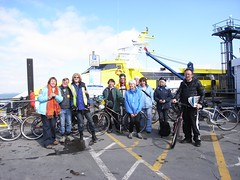 Partial group photo