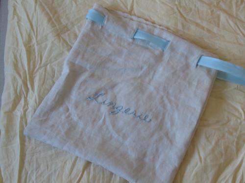 lingerie bag
