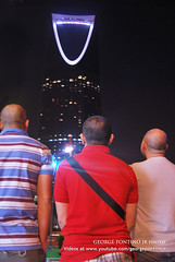 The View from Behind (GeorgePontinoJr the Crystal Eye) Tags: bald filipino riyadh pinoy yuppies kalbo ksa mamlaka kingdomtower ofw bagongbayani georgepontino kapbros