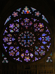 Rozeta (magro_kr) Tags: art church window prague cathedral gothic praha praga stainedglass czechrepublic rosewindow katedra kosciol koci gotyk czechy rozeta sztuka witraz witra eskrebublika