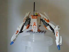 Builder's Block (lite) (ptroll) Tags: robot lego wip unfinished mech marsmission buildersblock