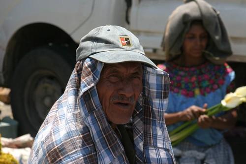 Sun protection, Guatemala style.