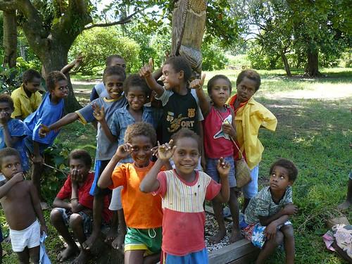 Vanuatu : Ile de Tanna #24 : Ecole de Manuapen ( francaise ) #3