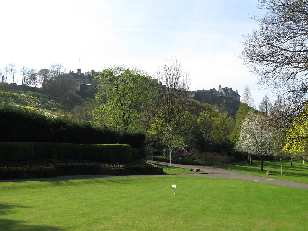 The Royal Scots Monument – Princes Street Gardens
