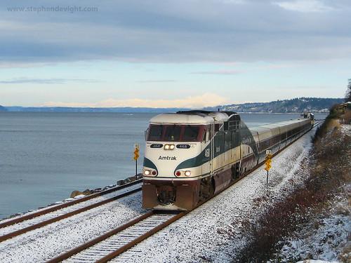 Amtrak Cascades by Stephen De Vight