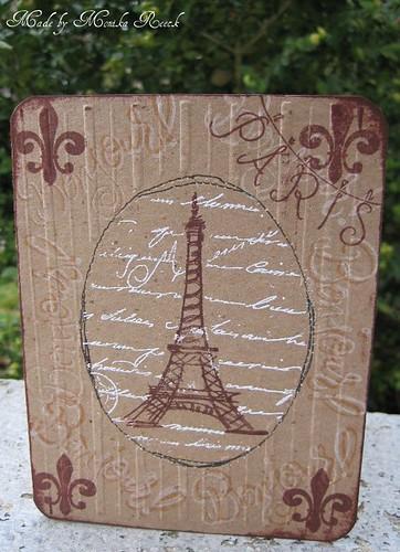 Distress Eiffel Tower