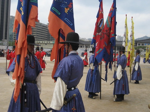 The Changing of Guard Ceremony @ Gyeongbokgung