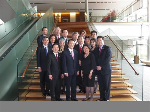 Japanese American Leadership Delegation