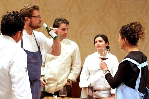 LA Michelin Star Chefs Celebrate a successful dinner