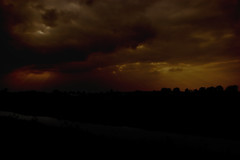 Fields (Ed Azcona) Tags: light sun sunlight haarlem field night dark cultivated akker