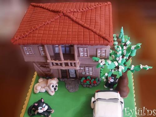Köy evi pastası