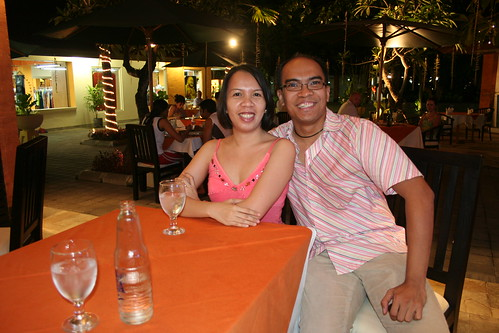 dining out in Frangipani (Bali Collection strip mall)