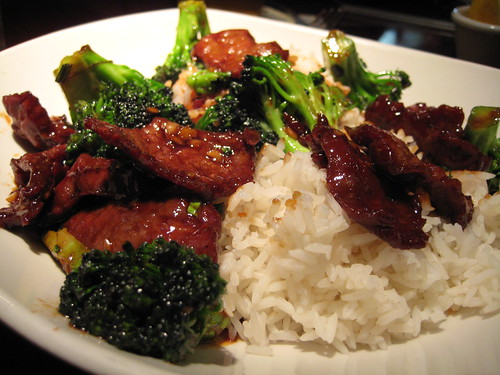 Mongolian Beef with Broccoli at P.F. Chang's China Bistro