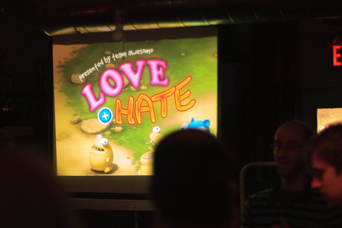 Love and Hate at the Hand Eye Society