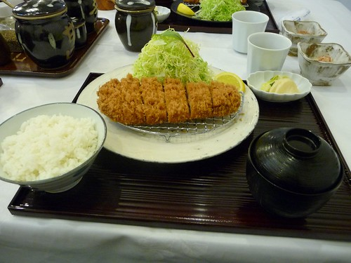 Tonkatsu meal at Maisen