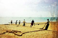 fishermen (LindsayStark) Tags: ocean travel people man men beach water war asia fishermen conflict srilanka humanitarian trincomalee trinco southasia displaced humanitarianaid emergencyrelief postconflict waraffected conflictaffected peopleofsrilanka