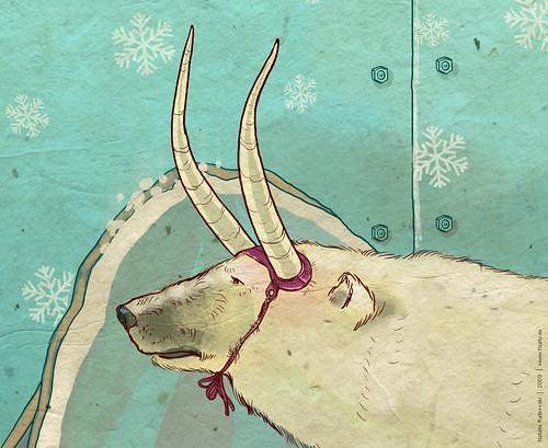 Rape of Europa, detail 2