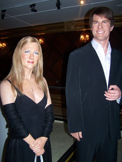 Jennifer Aniston & Tom Cruise by Hilary_JW