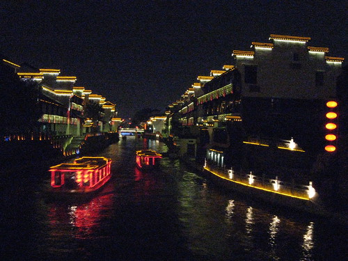 Canal by night 1