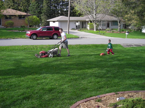 Mowing the Grass and a Teachable Moment (FOR ME)