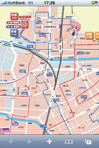 神田祭マップ