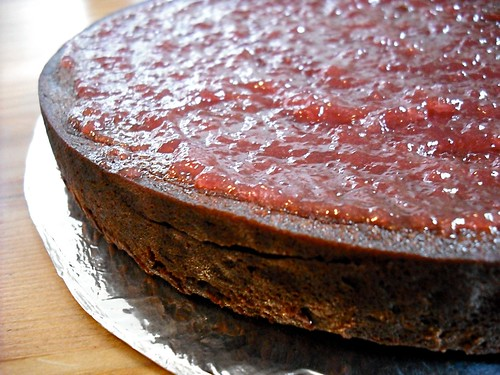 one layer with preserves