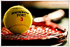 Tennis (N02) Tags: 3 color canon ball bokeh mark tennis ii 5d dunlop colorphotoaward
