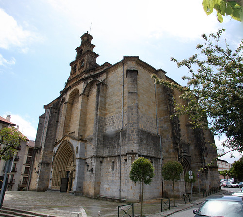 Guernica Church Panorama Wide