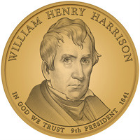 William Henry Harrison dollar coin
