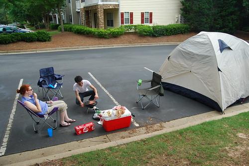 """Our """"campsite"""""""
