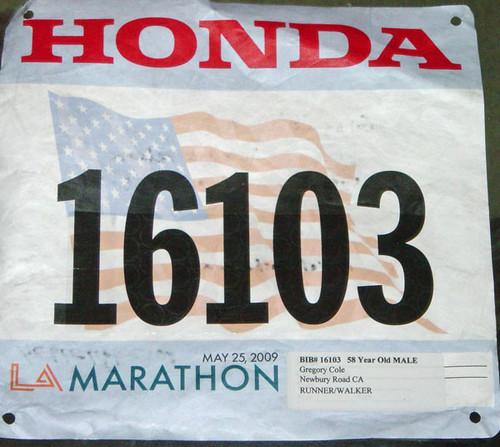 LA-Marathon-2009-Bib