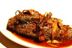 餐前小菜(6)-紅燒鯽魚