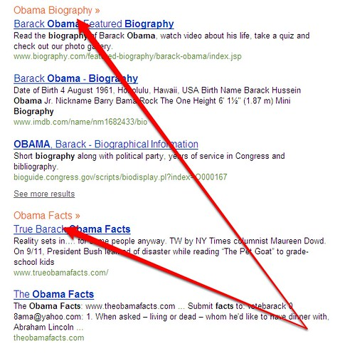 Obama Categories At Bing