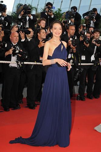 Shu Qi at Cannes 2009