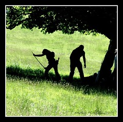Bows beneath the boughs (mcmax6) Tags: summer scotland fujifilm 2009 mugdock s5pro derekbrown