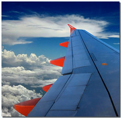 Cromatismi d'alta quota (Nespyxel) Tags: travel blue red sky orange colors clouds airplane fly flying nuvole pov blu wing volo pointofview cielo ala airbus winglet colori viaggio easyjet stefano geometrie a319 volare geometries ezy challengeyouwinner nespyxel stefanoscarselli pleasedontusethisimageonwebsitesblogsorothermediawithoutmyexplicitpermissionallrightsreserved pleasedontusethisimageonwebsites blogsorothermediawithoutmyexplicitpermissionallrightsreserved