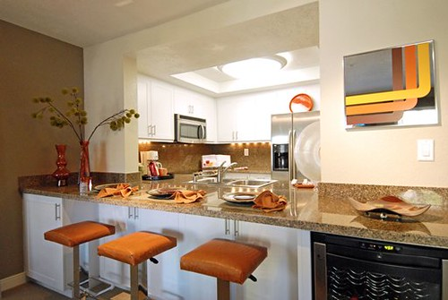 Modern Kitchen Interior Design By Costa Mesa CA