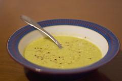 Asparagus Soup - CSA Week 1 Dish