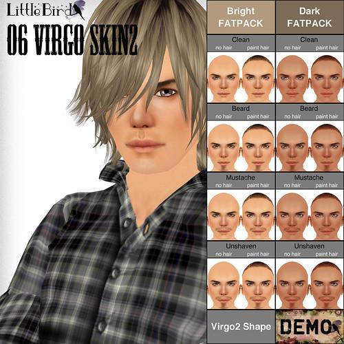 Virgo skin sample pop