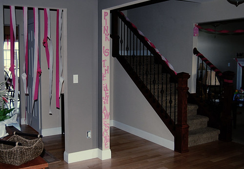 pink entry