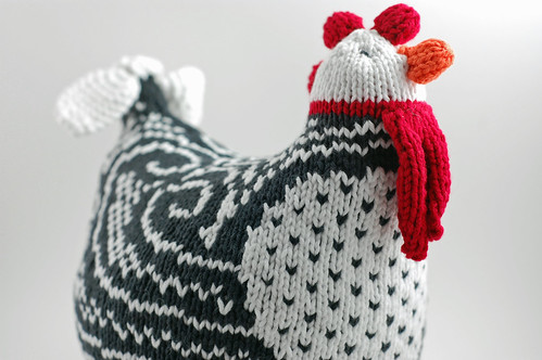 Knitted Chicken 04
