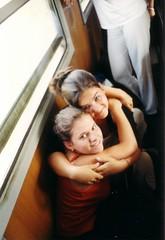 Gabi & Icu (KJG 2002-2007) Tags: vonat