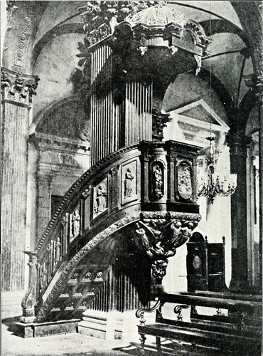 San Ignacio Church's Pulpit