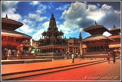 Patan Darbar Square ($) Tags: nepal tourism monument architecture square temple photography sightseeing tourist historic patan photoart hdr lsp darbar