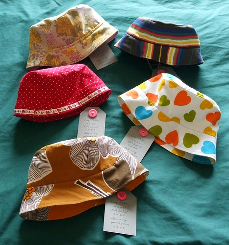 Handmade sun hats